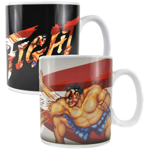 Street Fighter Heat Changing Mug - E Honda