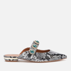 Kurt Geiger London Women's Priscilla Pointed Flat Mules - Snake Print