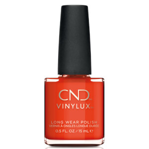 CND Vinylux Electric Orange Nail Varnish 15ml