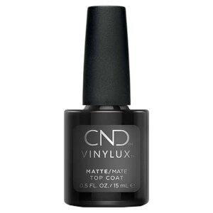 CND Vinylux Matte Top Coat Nail Varnish 15ml