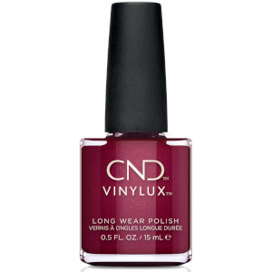 CND Vinylux Rebellious Ruby Nail Varnish 15ml - Exclusive