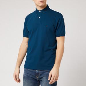 Tommy Hilfiger Men's Regular Polo Shirt - Mariner Blue