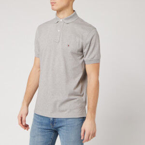 Tommy Hilfiger Men's Regular Polo Shirt - Cloud Heather