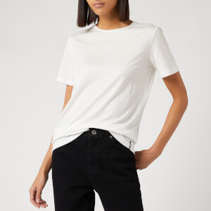 Superdry Women's Edit Tencel Crew Neck T-Shirt - Winter White
