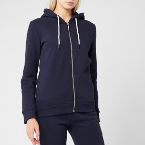 Superdry Women's Ol Elite Zip Hoodie - French Navy