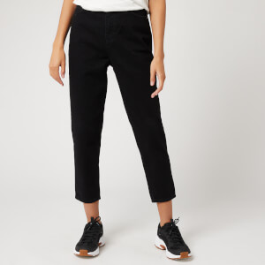 Superdry Women's Ruby Slim Leg Trousers - Black