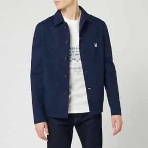 Lanvin Men's Workwear Jacket - Navy Blue