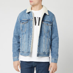 Levi's Men's Type 3 Sherpa Trucker Jacket - Firewood
