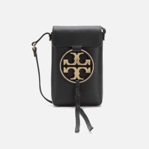 Tory Burch Women's Miller Metal Phone Cross Body Bag - Black