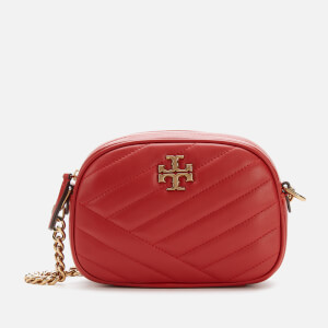 Tory Burch Women's Kira Chevron Small Camera Bag - Red Apple