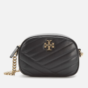 Tory Burch Women's Kira Chevron Small Camera Bag - Black