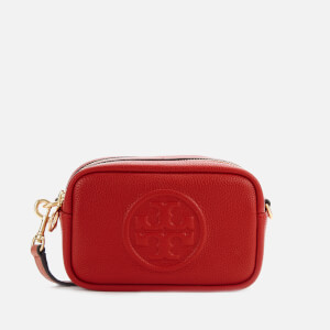Tory Burch Women's Perry Bombé Cross Body Bag - Red Apple