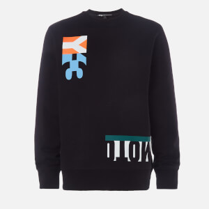 Y-3 Men's Swim M-Cut Crew Neck Sweatshirt - Black