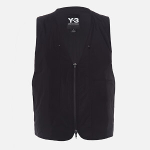 Y-3 Men's Travel Reversible Insulated Vest - Black