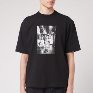 Y-3 Men's Alleway Graphic Short Sleeve T-Shirt - Black