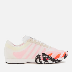 Y-3 Men's Rehito Trainers - White/Orange/Black