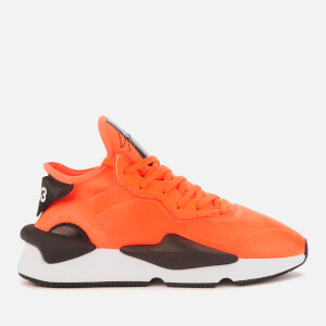 Y-3 Men's Kaiwa Trainers - Orange/Black/White