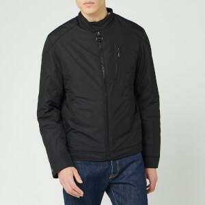 Barbour International Men's Station Quilted Jacket - Black