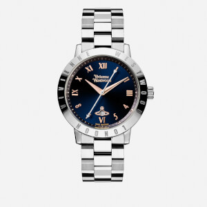 Vivienne Westwood Women's Bloomsbury Blue Watch - Silver