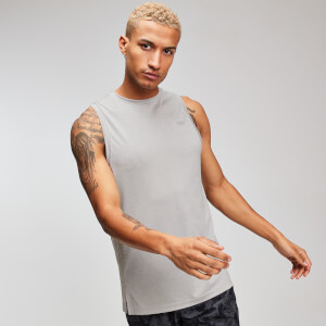MP Training Heren Tank Top - Chrome-Marl