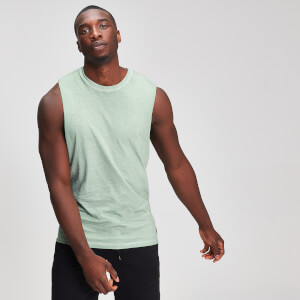 Miesten Myprotein Graphic Drop Armhole Tank Top - Mint
