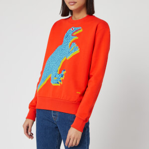 PS Paul Smith Women's Dino Sweatshirt - Orange