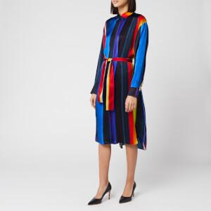 PS Paul Smith Women's Stripe Belted Dress - Multi