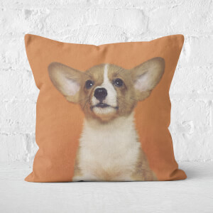 Cute Corgi Square Cushion