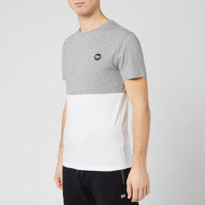 Superdry Men's Collective Colour Block T-Shirt - Grey Marl