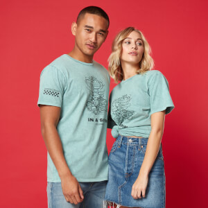 In A Spin Unisex T-Shirt - Green Acid Wash