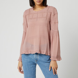 Free People Women's Olivia Blouse - Rose
