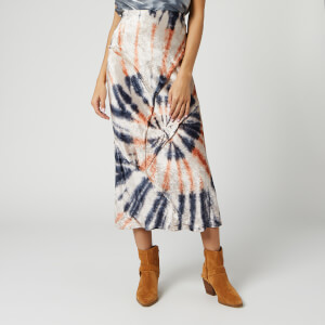 Free People Women's Bali Serious Swagger Tie Skirt - Multi