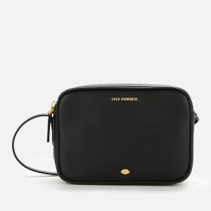Lulu Guinness Women's Lip Pin Cole Cross Body Bag - Black