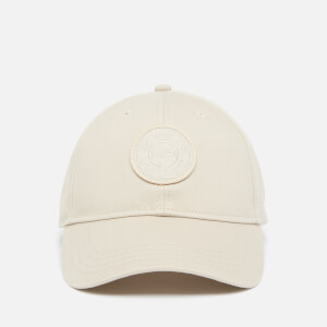 Badge Logo Baseball Cap - Brun