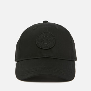 Badge Baseball Cap - Black