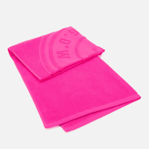 Large Towel - Super Pink