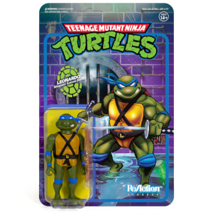 Super7 Teenage Mutant Ninja Turtles ReAction Figure - Leonardo