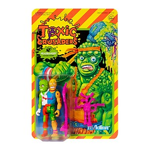 Super7 Toxic Crusaders ReAction Figure - Headbanger