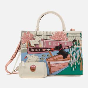 Radley Women's Little Venice Medium Ziptop Multiway Grab Bag - Chalk