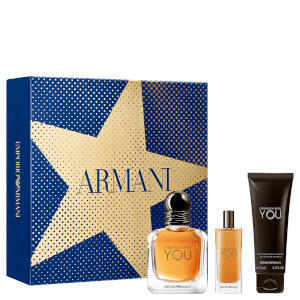 Emporio Armani Stronger with You Eau de Toilette Christmas Gift Set for Him