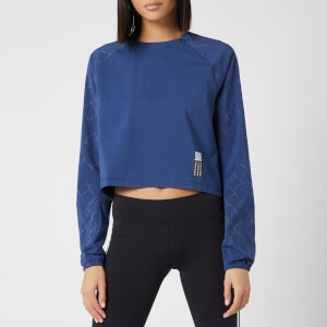 adidas Women's Adapt Long Sleeve Top - Tech Indigo