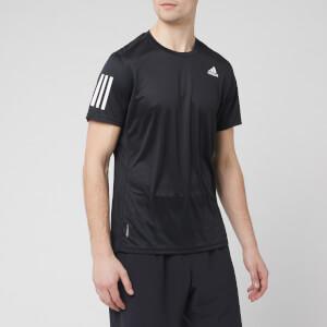 adidas Men's Own the Run Short Sleeve T-Shirt - Black