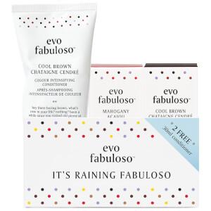 evo fabuloso It's Raining Fabuloso - Cool Brown (Worth $59.85)