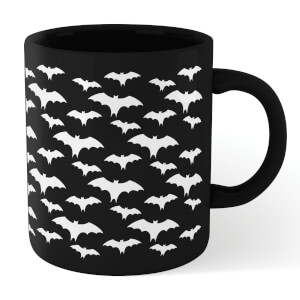White Bats Mug - Black