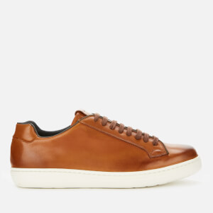 Church's Men's Boland Leather Cupsole Trainers - Walnut