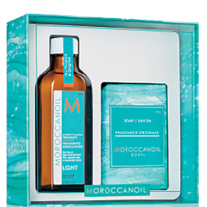 Moroccanoil Light Oil & Soap Gift Pack (Worth $93.90)