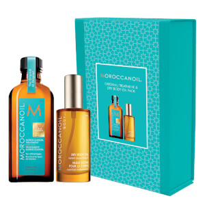 Moroccanoil Original Treatment & Dry Body Oil Pack (Worth $93.90)
