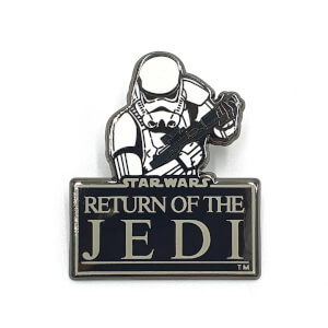 Star Wars Augmented Reality Pin Badge Collectable - Return Of The Jedi