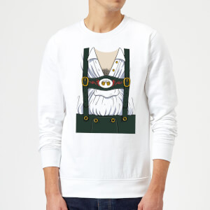 Oktoberfest Mens Chest Sweatshirt - White