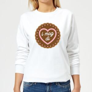 Oktoberfest I Mog Di Women's Sweatshirt - White